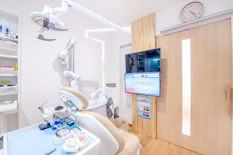 ④「完全個室の診療室」でプライバシーを保護